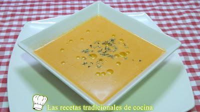 Receta fácil de sopa fría de verduras un plato muy saludable y tradicional