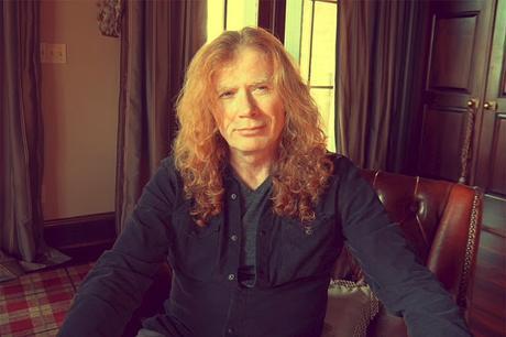 Dave Mustaine anuncia que se le ha diagnosticado cáncer de garganta