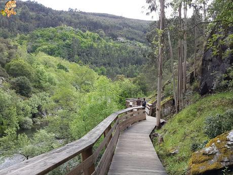 Passadiços do Paiva, pasarelas sobre el río Paiva