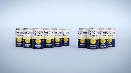 Corona Fit Pack, la propuesta para eliminar plásticos de los packs de latas