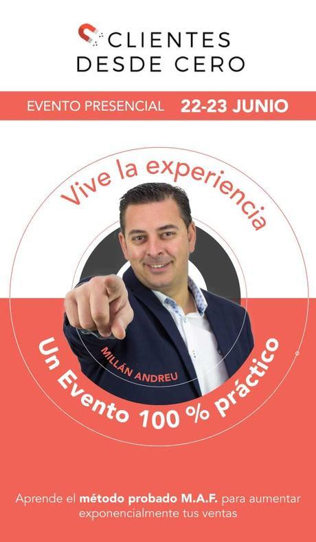 Millán Andreu revela su método para hacer crecer un negocio y aumentarlas ventas exponencialmente