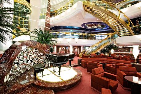 MSC-Splendida-Reception ▷ Comenta en 7 mejores cruceros para niños por Caz