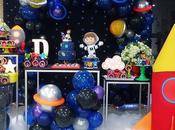 ideas para fiesta Astronauta