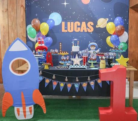 15 ideas para tu fiesta de Astronauta