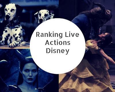 Ranking Live Actions Disney
