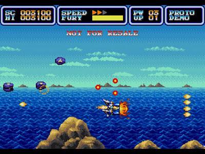 Más marcianitos en IRENA, el nuevo juego en preparación para Mega Drive