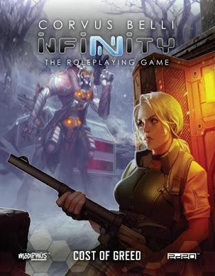Infinity RPG en inglés y en español: Noticias, artículos y lanzamientos