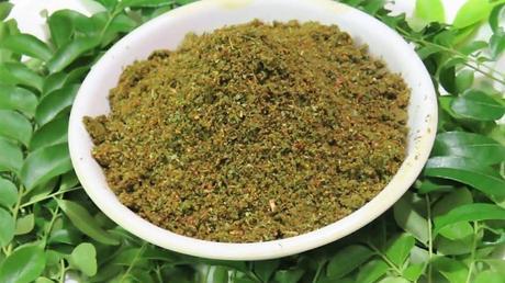 Hojas del árbol de curry para la salud