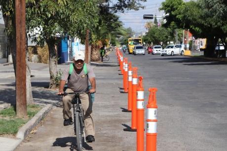 Inician creación de ciclovía en avenida Himno Nacional