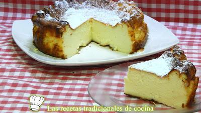 Receta fácil de tarta de queso muy cremosa