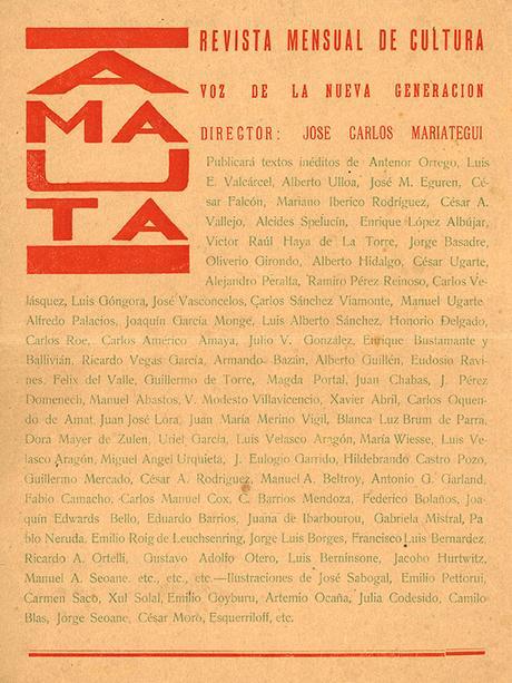 Vanguardia Continental: Revista Amauta