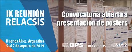 IX Reunión RELACSIS. Buenos Aires. Argentina
