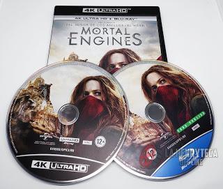 Mortal Engines, Análisis de la edición Bluray y UHD