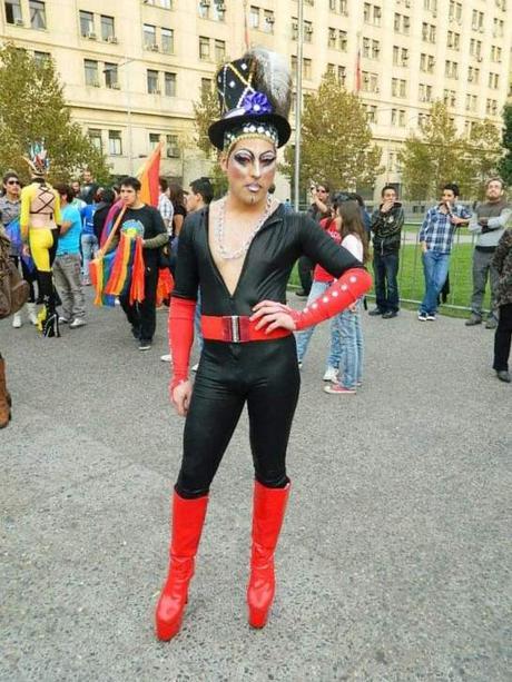 Chile. La disidencia se levanta ante el patriarcado gay.