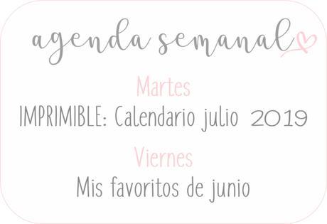 Agenda Semanal 24/06 - 30/06