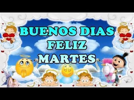 #Buenosdias, Feliz y bendecido MARTES
