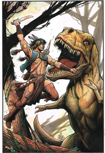 Los mundos prehistóricos de Tim Truman