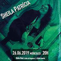 Concierto de Sheila Patricia en Búho Real