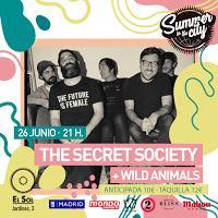 Concierto de The Secret Socity y Wild Animals en Sala el Sol