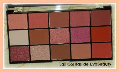 Review Paleta sombras RELOADED Newtrals 2 de Makeup Revolution