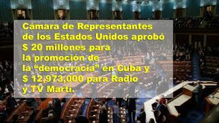 EE.UU aprueba más de 32 millones de dólares para subversión en Cuba en 2020