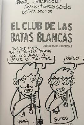 ¿Conoces el club de la batas blancas?   Do you know the white coats club?   你知道白大褂俱樂部嗎?