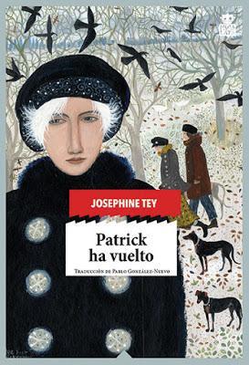 PATRICK HA VUELTO: ¡Magnífica novela de misterio!