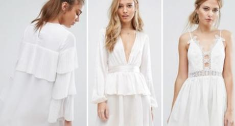 ¿Quieres usar vestidos blancos este verano? Las Mejores Formas de Llevarlos
