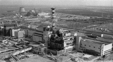 Chernobyl, explosión del reactor número 4.