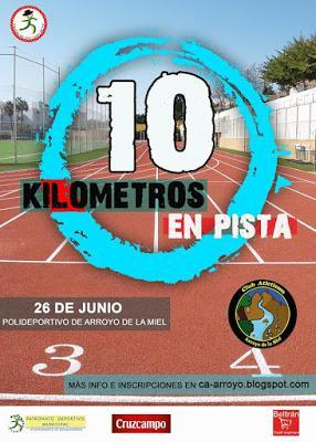 XXI 10 Km en Pista de San Juan