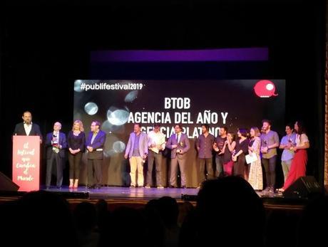 BTOB se erige como la mejor agencia de publicidad de España en el Publifestival