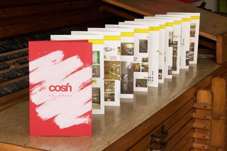 libro-catálogo impreso desplegable