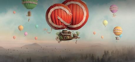 Portada de la página web de Adobe