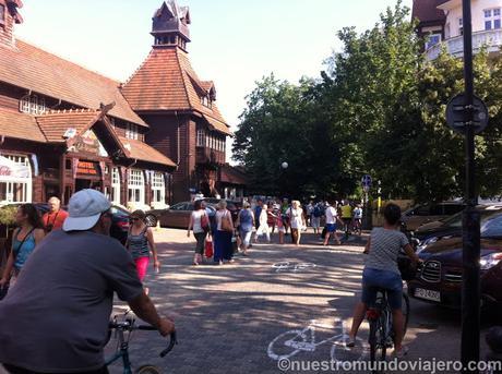 Sopot; la zona de veraneo de moda en Gdansk
