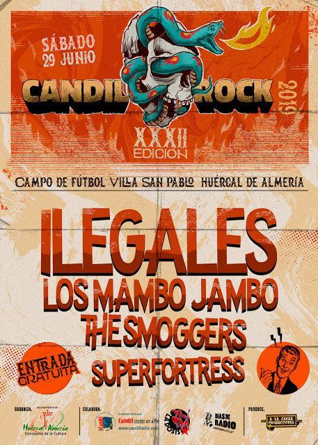 Ilegales - 29/06/2019 - Candil Rock (Huercal de Almería)
