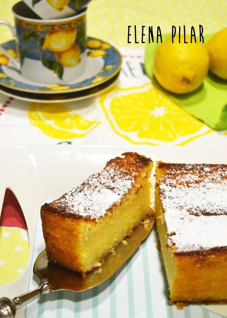 Pastel de ricotta y limón