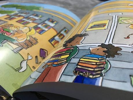 Reseña: Los niños que amaban los libros, de Peter Carnavas