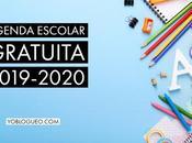 Agenda escolar gratuita 2019-2020 para descargar varios modelos