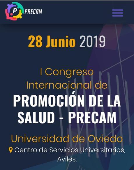 I Congreso Internacional de Promoción de la Salud #Precamsalud19