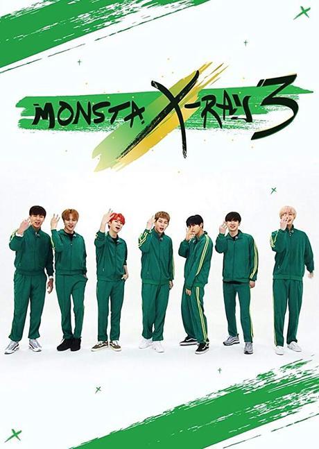 Jooheon, Wonho, Minhyuk, Kihyun, Hyungwon, Changkyun, Monsta X, and Shownu in MONSTA X-Ray (2017)