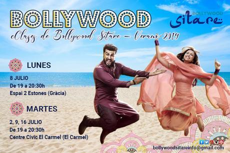 Clases de Bollywood en Barcelona - verano 2019