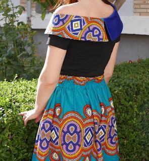 Combinar telas africanas