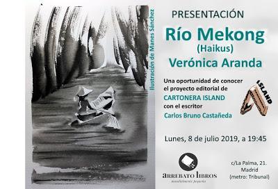 Presentación de Río Mekong (31 haikus) en Madrid