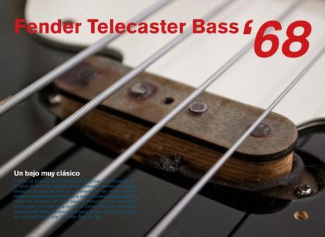 Magazine Bajos y Bajistas #23 – Review Fender Telecaster Bass '68