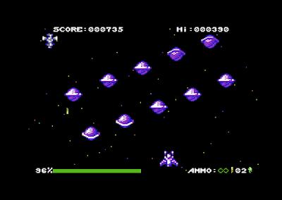 ¡Retaliate DX para Commodore 64 a punto de caramelo!