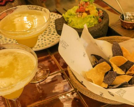 Restaurante Santita, un trocito de México en Madrid.