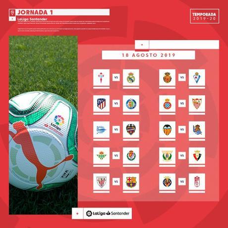 Calendario del Sevilla FC - LaLiga 2019/20