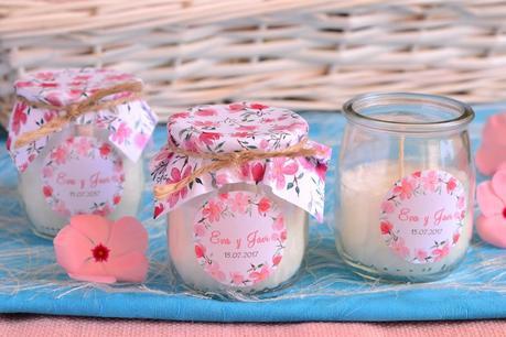 regalos naturales invitados boda velas perfumadas