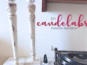 DIY: Candelabros (Desafio Handbox)