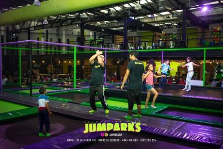 Jumparks (trampoline city)  ya abrió en San Luis Potosí